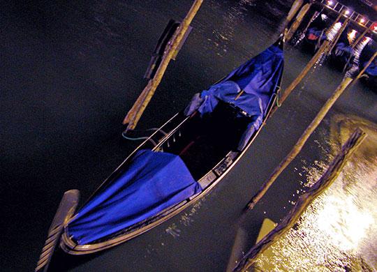 A Poem about a Gondola