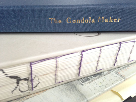 The Gondola Maker on Book Tour