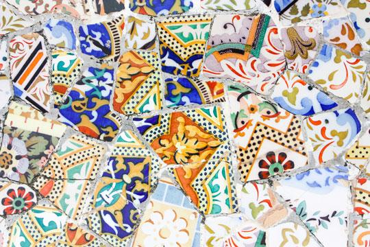 barcelona-park-guell-pottery