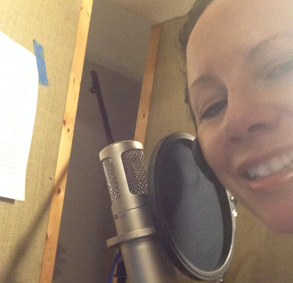 Laura Morelli TED-Ed sound check