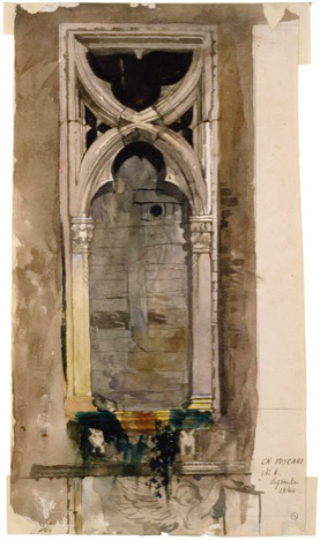 Ca' Foscari, John Ruskin
