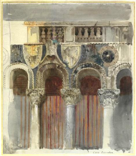 Casa Loredan, John Ruskin