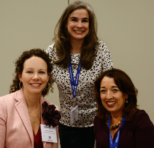 With Pauline Frommer and Susan van Allen