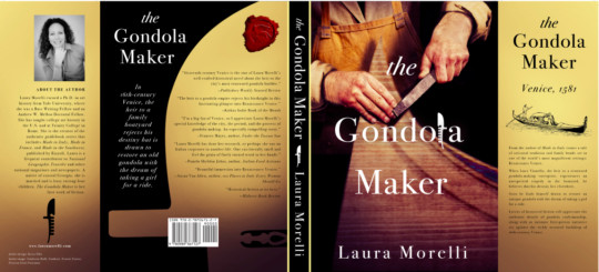 The Gondola Maker dust jacket