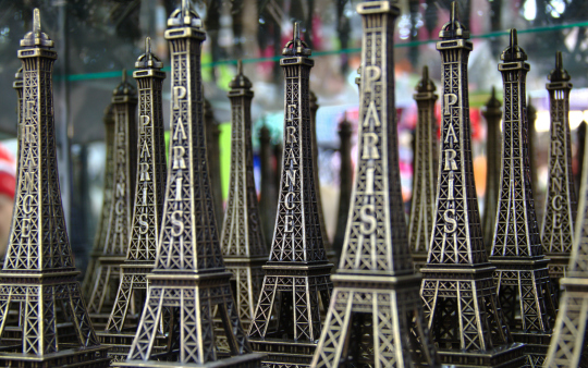 Eiffel Tower souvenirs