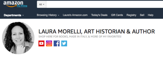 The Laura Morelli Amazon Store Is Open for Business! – Laura