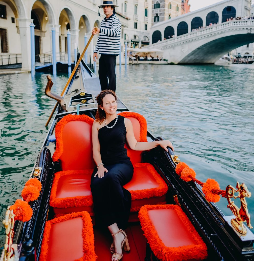 Laura Morelli in Venice