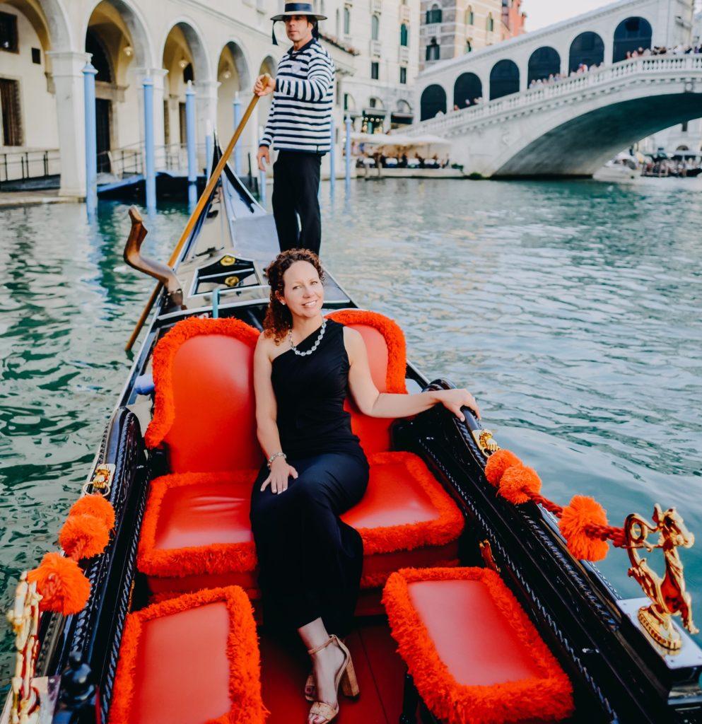 Laura Morelli in Venice